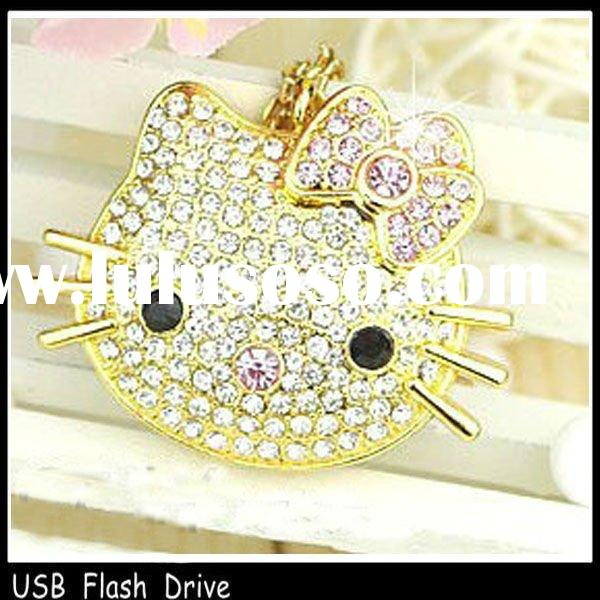 fashion design jewelry cartoon character usb flash drive paypal accept