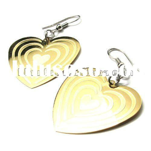 fashion stainless steel earring accessories for woman