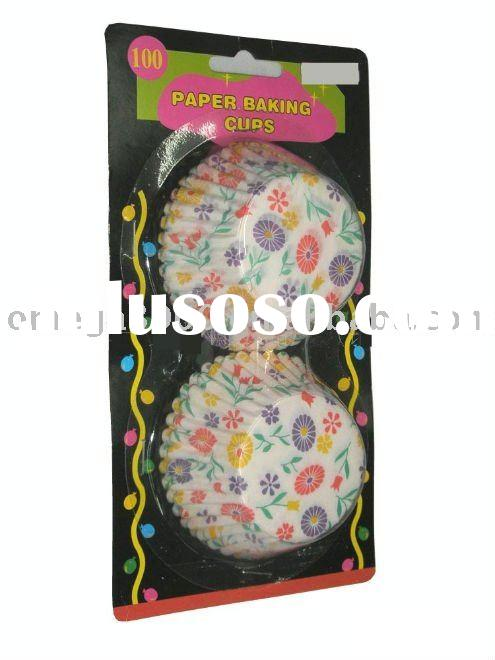 greaseproof paper baking cups