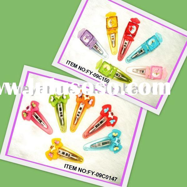 hair slide,fashion barrette and kids hair accessories