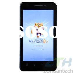 high end class A made in china 4.3 inch full function dual sim card android 4.0 3G smart mobile tele