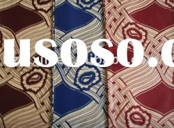 holland wax 100% Cotton African Real Wax Fabric African printed wax fabric of veritable