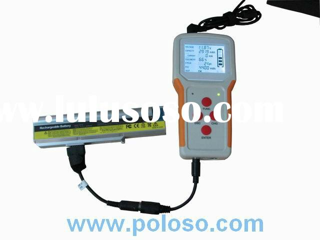 laptop battery tester, battery discharger, battery load tester, universal tester