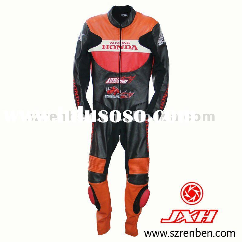 leather motorcycle racing suit