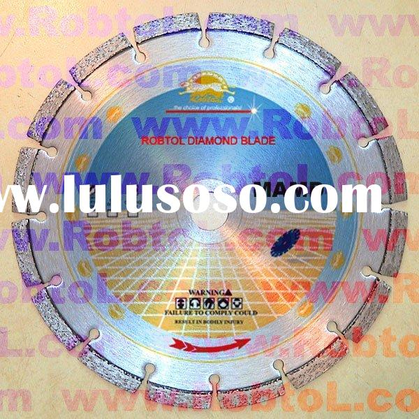 "masonry diamond saw blade for cutting brick and block 12"" and 14"""