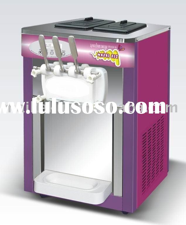 mini commercial use soft ice cream machine hot saling in China