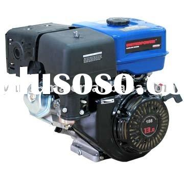 model YM188F, Air cooled 4 stroke hand start gasoline fuel 13hp small petrol engine