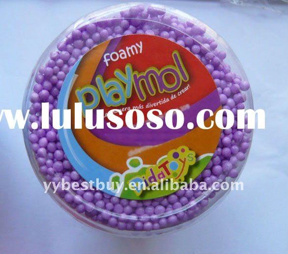 non-dry play foam putty for kids' art&craft