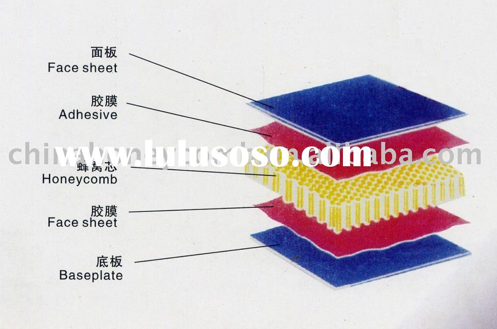 plastic honeycomb panel (building material)