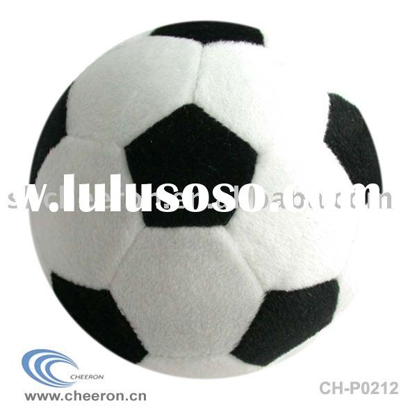 plush soccer ball toy,stuffed soccer ball toy,soft ball toy