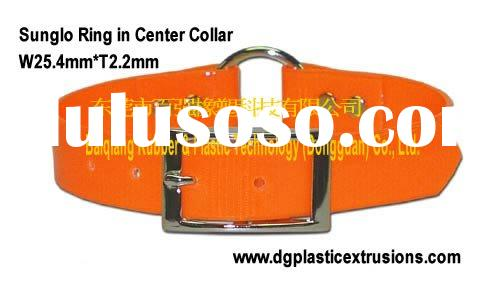 reflective dog collar (Orange reflective dog collar or Reflective DayGlo Ring in Center Collar )