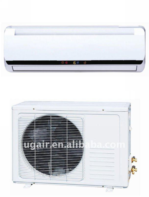 split wall mounted air conditioner for indoor,gas R410a or R22