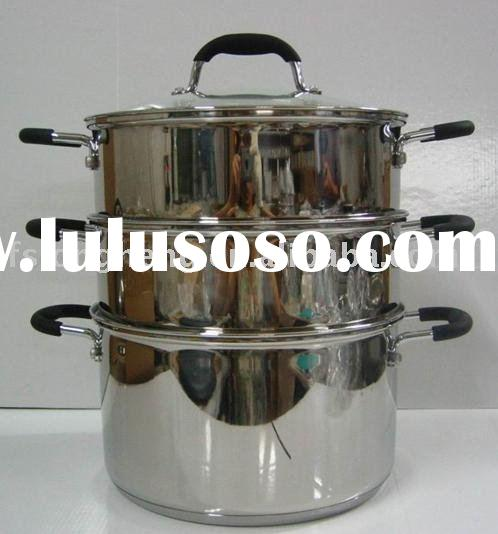 stainless steel cookware stainless steel steamer