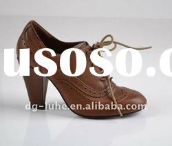 tan, square heel,leather fashion ladies winter boots 2012