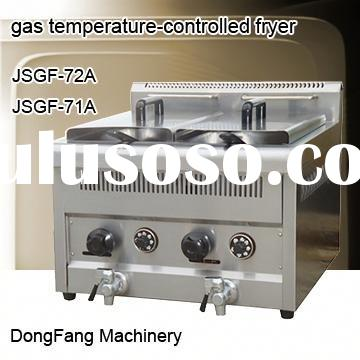 used gas deep fryer, Stainless Steel Counter Top Temperature-controlled gas fryer