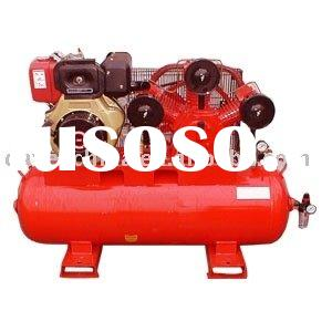 10hp 50cfm Diesel Engine Portable Air Compressor