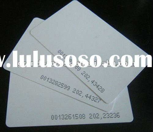 125k RFID card access control card Access smart card for Access Control System
