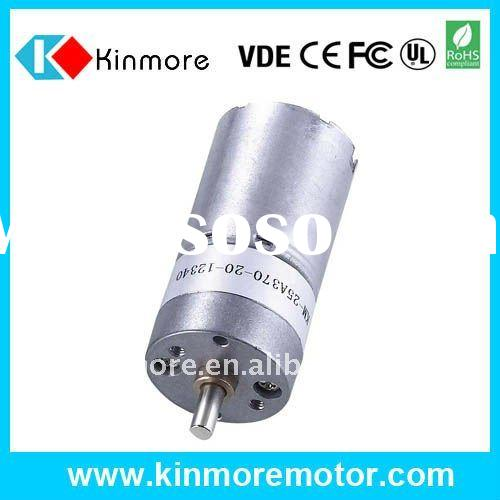 12V DC Electric Motor with Gearbox for Car Reader and Dispenser