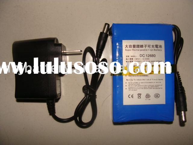 Universal Battery Pack 12v Battery Pack For Portable