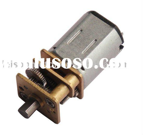 12mm 6v small dc gear motor for robot and camera