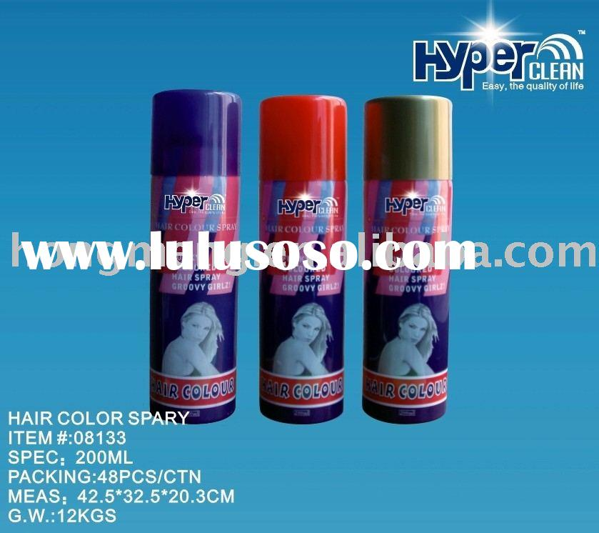 200ml Colorful Tints Hair Color Spray,Hair Dye Spray,Hair Spray