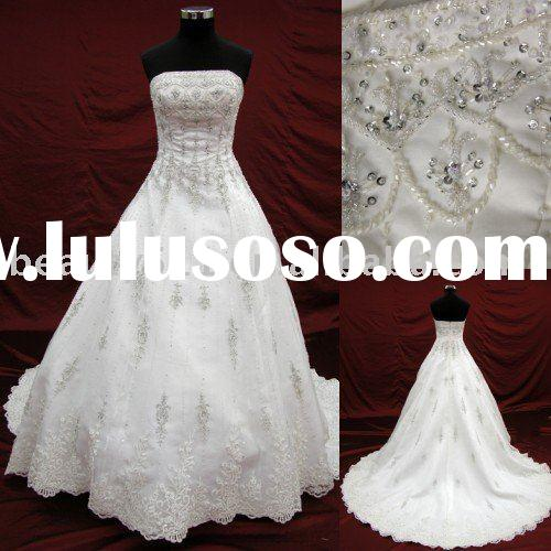 2010 stunning japanese style wedding dress,bridal gown aster102470