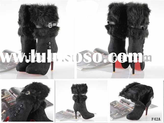 2011 Wholesale Fashion Womens High Heels Boots Shoes