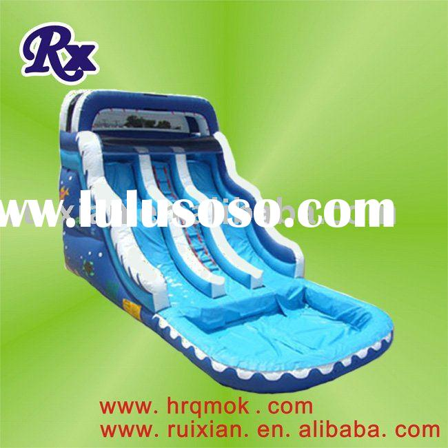 2011 newly developed exciting stable HOT inflatable pool water slide