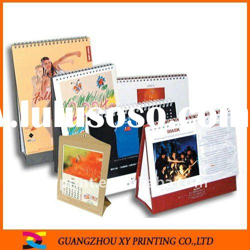 2012 Desktop Calendar Printing Sevice From China