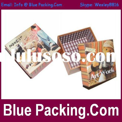 2012 Fancy Paper Packing Box