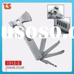 2012 High quality full stainless steel axe with hammer/Hand tools( 1512-2 )