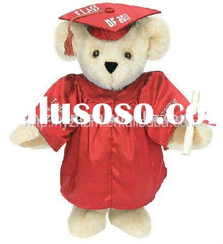 2012 PLUSH STUFFED GRADUATION TEDDY BEAR TOY