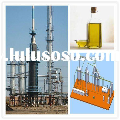 2012 TOP TECH used oil refinery for diesel oil machine with capacity of 10t/d