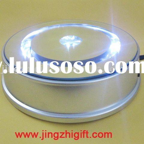 2012 animation display Rotation LED light base 8 inches diameter