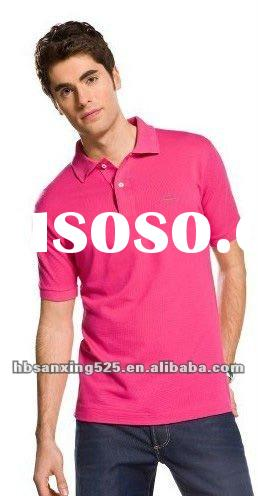 2012 high quality and hot fashion 100% lacos cotton polo t shirts