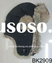 2012 hotest popular ladies fashion New lint winter russian hat with fur