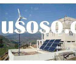 2.6kw wind solar hybrid power system for home use