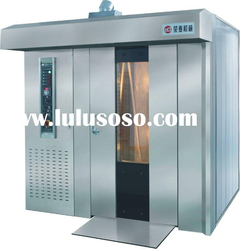 32 trays capacity GAS fired rotary oven, bread oven, baking oven