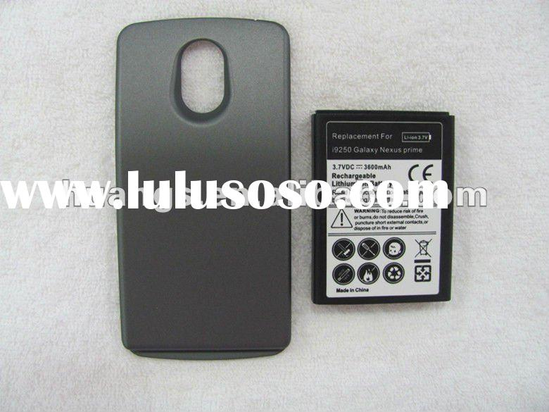 3600mAh mobile phone battery for Samsung Galaxy Nexus I9250