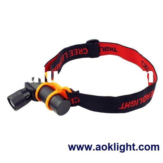 3W high power adjustable focus zoom cree led headlamp