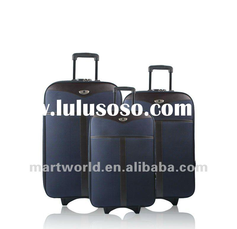 3 pieces external trolley cheap luggage sets for sale (JWTB-248)
