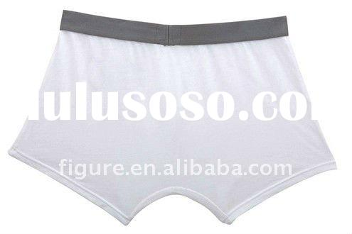 50%modal50%cotton men white quality underwear