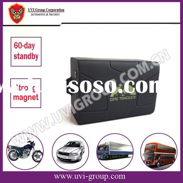 60 days standby Portable Car GPS Tracker with Remote Engine-stop and Resume