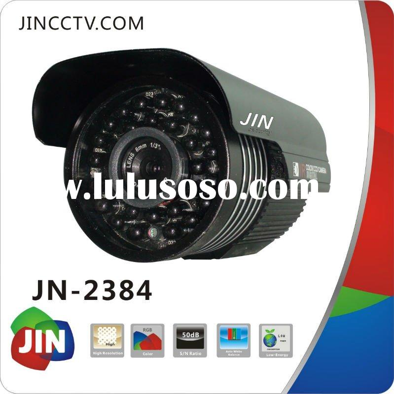 650 TV line 1/3Sony low illumination sharp outdoor ir waterproof hd cctv camera JN-2384