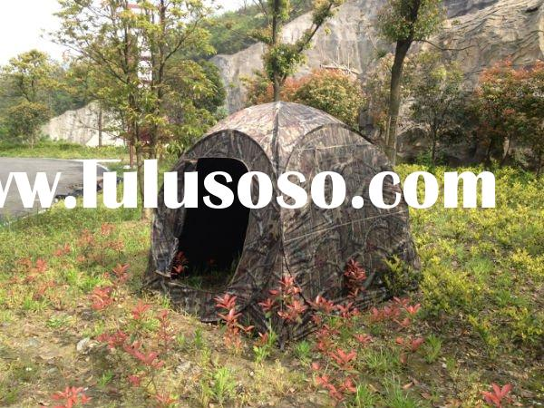 "68""*68""*65"" of 2 People camouflage Hunting Tent"