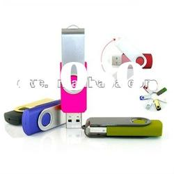 8 gb swivel usb flash drive with logo