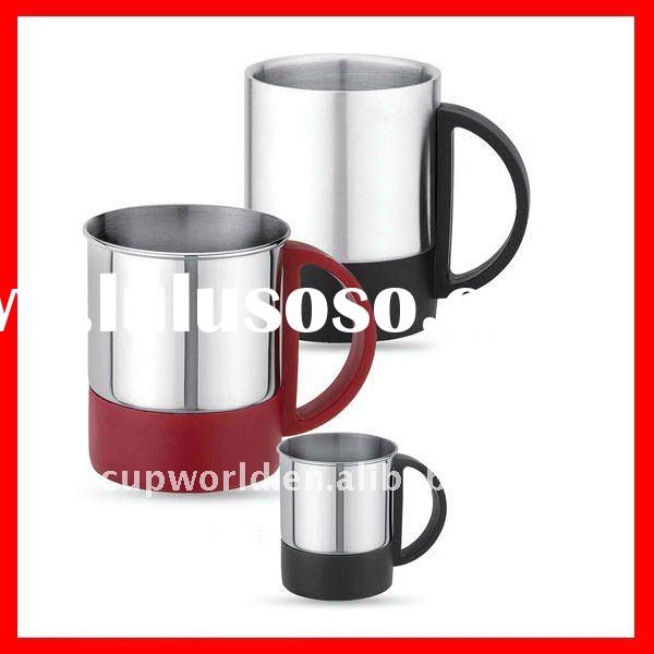 8oz double wall stainless steel thermal coffee cup