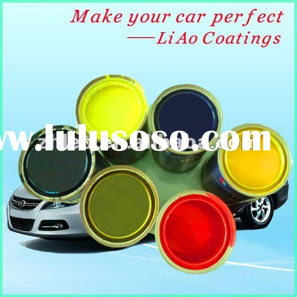 Acrylic Polyurethane Car Spray Paint Colors