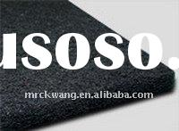 Activated carbon felt for air and water purification