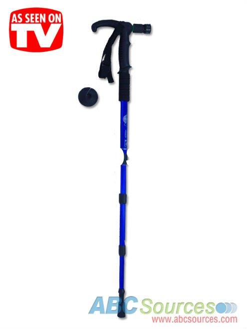 Adjustable Folding Walking Stick with LED Light